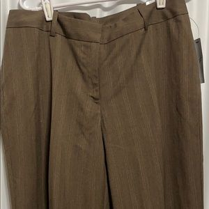 NEW WORTHINGTON TROUSERS SIZE 12 CURVY FIT